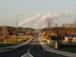 Bełchatów, Poland: Bełchatów power plant is one of the world's biggest coal plants – burning a tonne of coal a second, its annual carbon emissions are roughly the same as Slovakia's. The state-run Polish Energy Group is under significant pressure to announce a closure date, but the Polish government is reluctant to move on from coal power