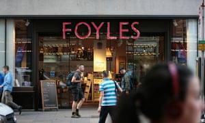 Foyles bookshop on London's Charing Cross Road.