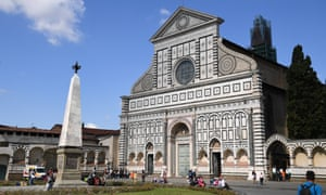 The Complesso di Santa Maria Novella, where Leonardo da Vinci lived in the early 16th century.
