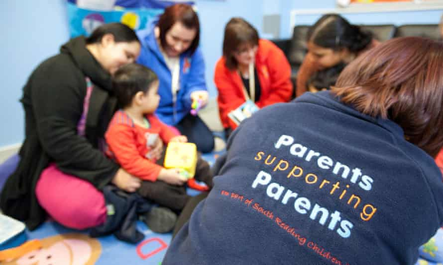 Parents at Sure Start Whitley in Reading
