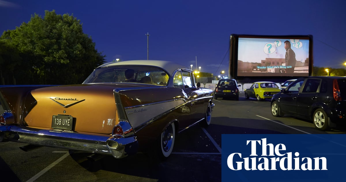 Our film critics first drive-in: I quietly squeak with excitement