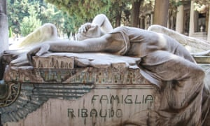Angel n the tomb of the Ribaudo family