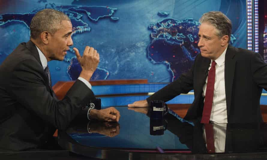 Fans of Jon Stewart and president Obama speak only to themselves on social media, just as the US right do
