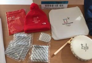 Winter Olympics opening ceremony survival kit