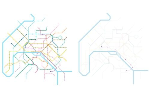 Nyc Subway Map Disabled Access.Access Denied Wheelchair Metro Maps Versus Everyone Else S Cities