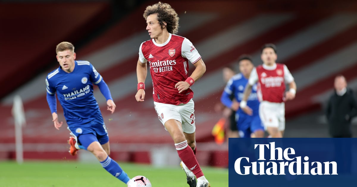 David Luiz ruled out for a few weeks as Arsenals defensive injury list grows