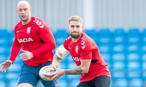 Sam Tomkins had a successful season at full-back for Wigan but is playing at half-back for England against New Zealand.