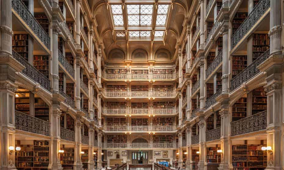 Palace of knowledge … George Peabody Library in Baltimore.