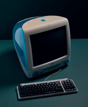 Apple iMac G3 (1998) home computer.
