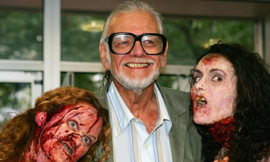 George A Romero: 'He made the zombie a key image of horror and despair'.