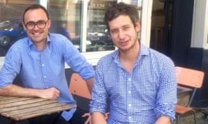Les Petites Tables founders Romain Passelande and Thomas Le Gourrierec