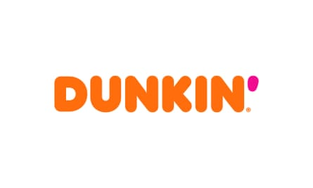 This undated image provided by Dunkin' shows a new Dunkin' logo that will be in restaurants in January 2019.