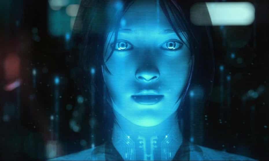 Cortana in Halo 4.