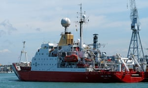 The RRS James Clark Ross research ship