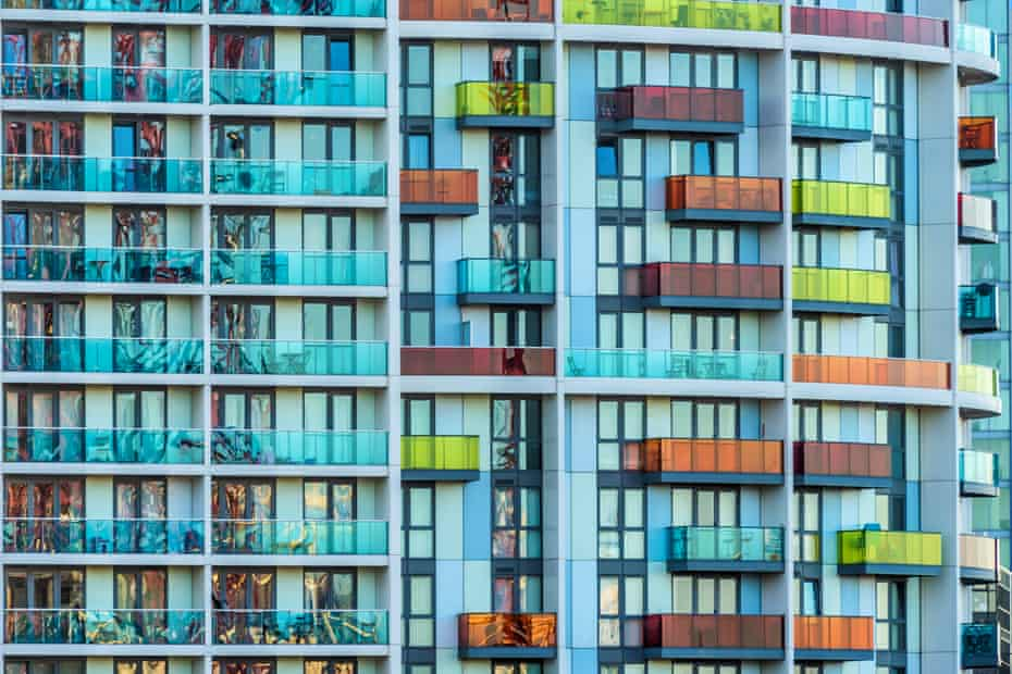 Apartments near the Queen Elizabeth Olympic Park.