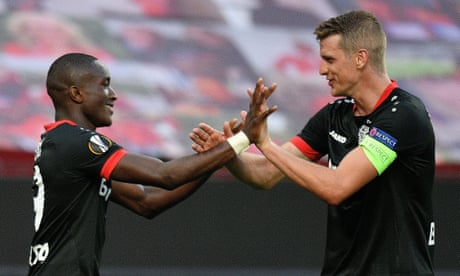 Bayer Leverkusen 1-0 Rangers (agg 4-1): Europa League last 16, second leg – as it happened