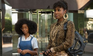 Unfunny fantasy … Marsai Martin and Issa Rae in Little.