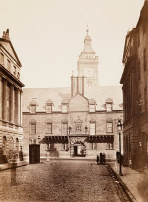 Glasgow College, about 1866