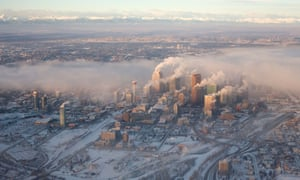 The sprawling, car-centric city of Calgary, Alberta is home to much of Canada's oil and gas business.