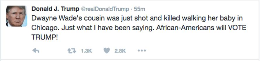 Donald Trump's original tweet