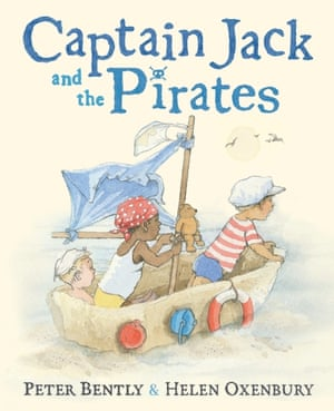 Captain Jack and the Pirates illustrated by Helen Oxenbury, written by Peter Bently (Puffin)