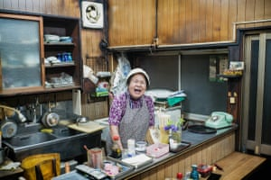 Well into her 80s, this woman continues to open her bar in Higashimurayama, in Tokyo's western suburbs