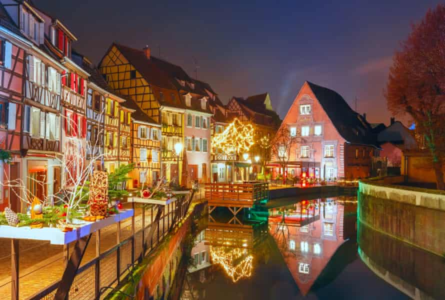 Illuminating ideas: Christmas Little Venice in Colmar, Alsace.