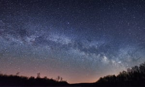 The Milky Way seen from Cherry Springs National Park