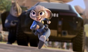 Zootropolis's Judy Hopps on the case.
