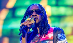 Snoop Dogg: a supporter of the Campaign to Unload.