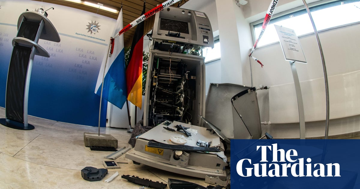 Suspect in ATM attacks blew himself up filming tutorial, says Europol