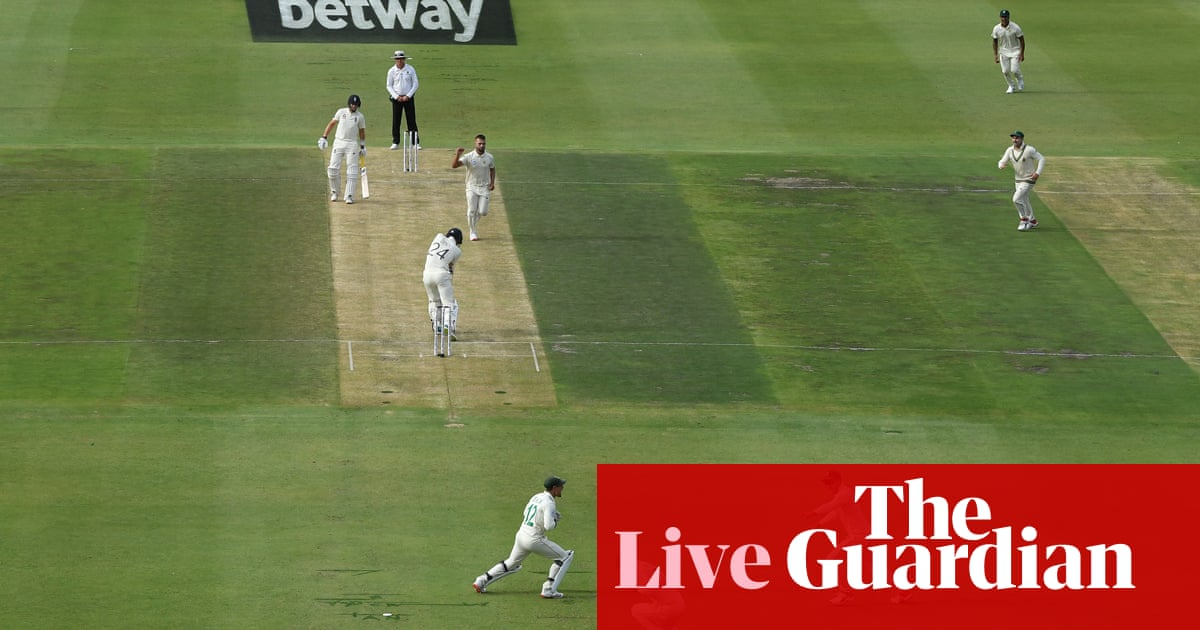 South Africa v England: fourth Test, day two – live!