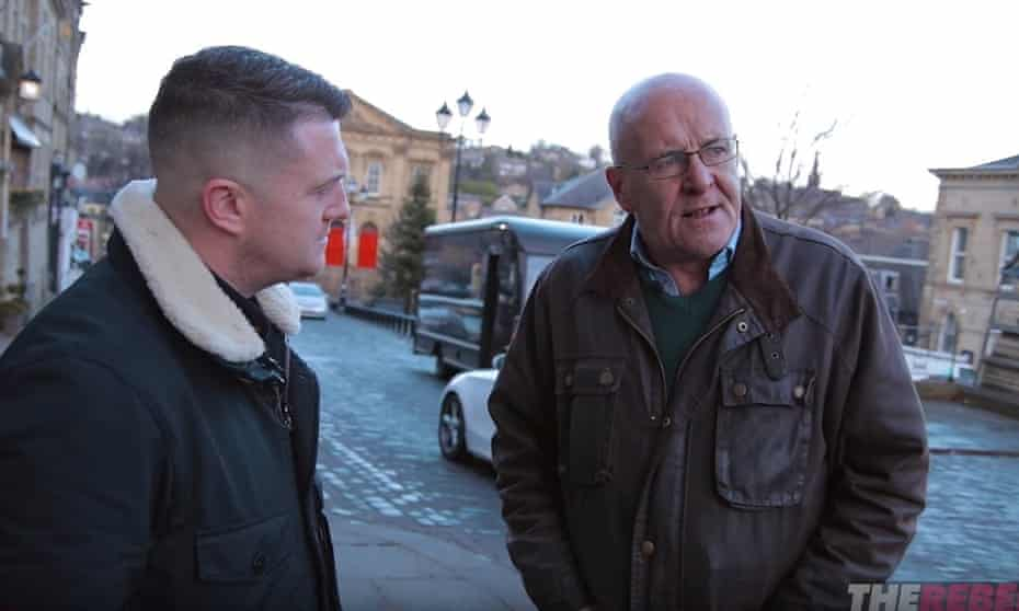 Tommy Robinson interviewing Danny Lockwood