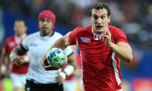 Sam Warburton during the 2011 World Cup, soon after Warren Gatland made him captain of his country at 22.