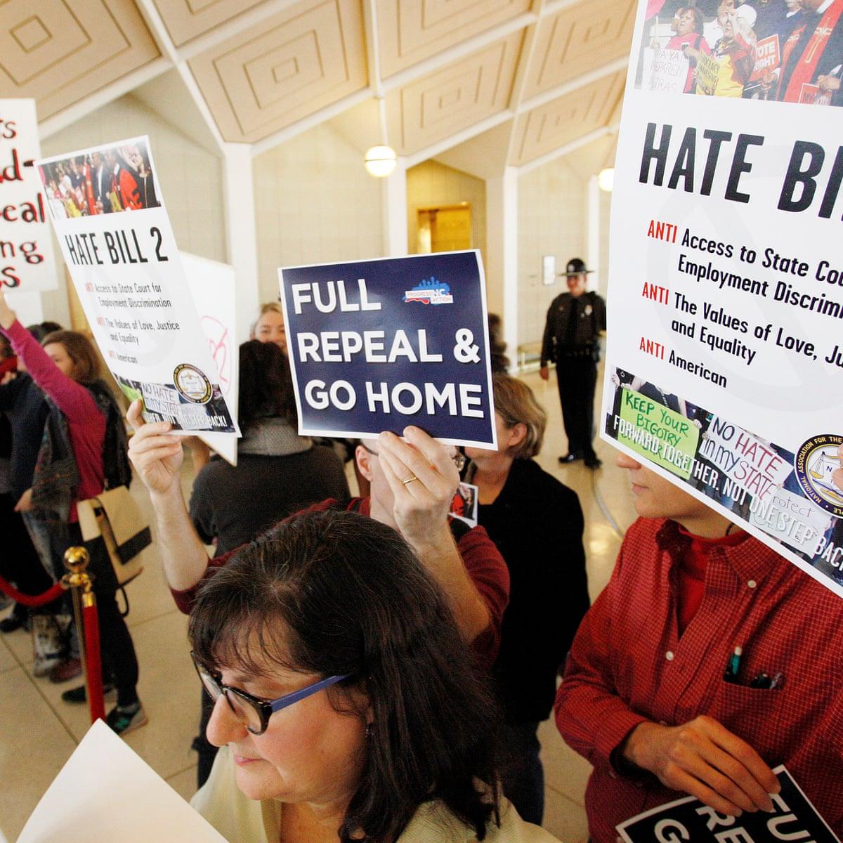 North Carolina Bathroom Bill Blocking Lgbt Protections Unlikely To See Repeal North Carolina The Guardian