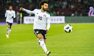 Mohamed Salah will have to carry on his sensational club form for Egypt to have an impact in Russia this summer.