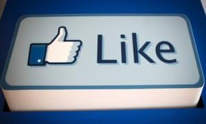 "A Facebook Inc. ""Like"" logo"
