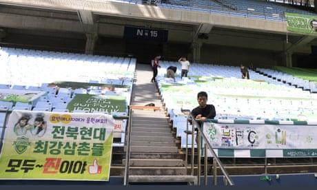 Football returns: Jeonbuk Motors v Suwon Bluewings in Korea's K-League – watch live!