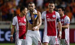 Hakim Ziyech and Dusan Tadic lead off the Ajax players