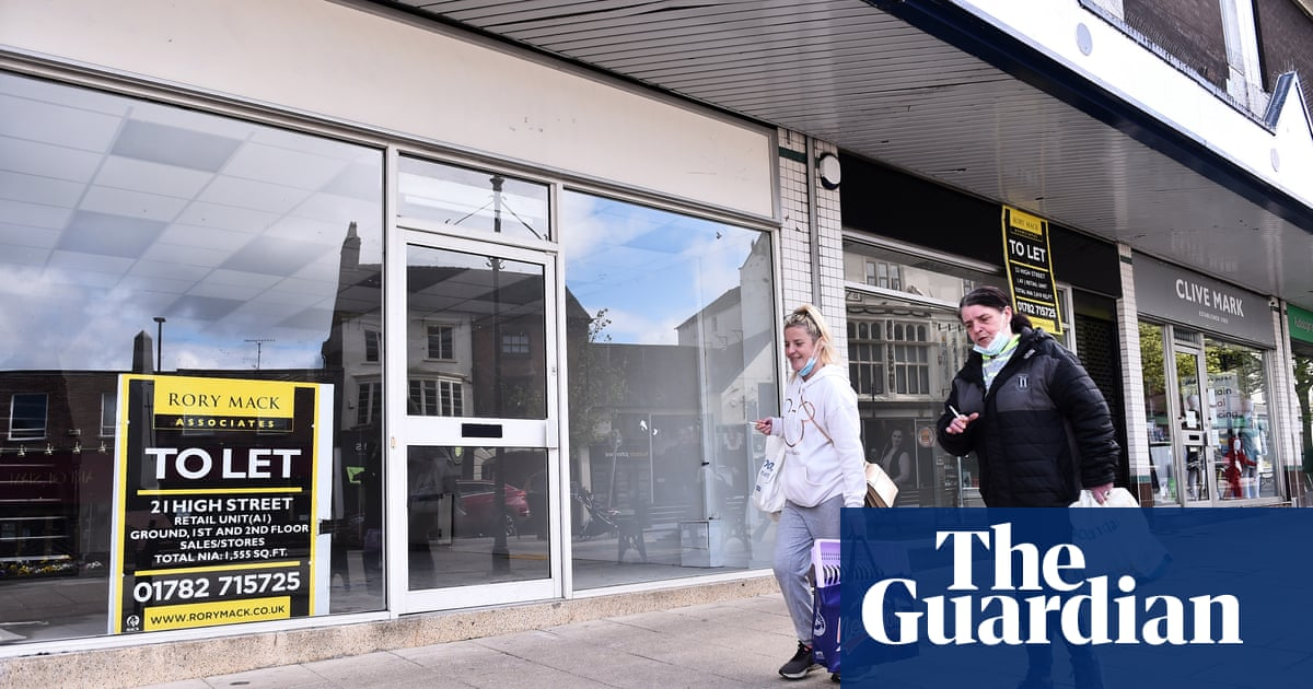 One in seven shops now vacant across the UK