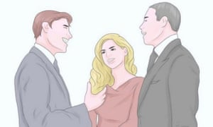 Image from WikiHow website showing Barack Obama, Beyoncé and Jay-Z as white people.
