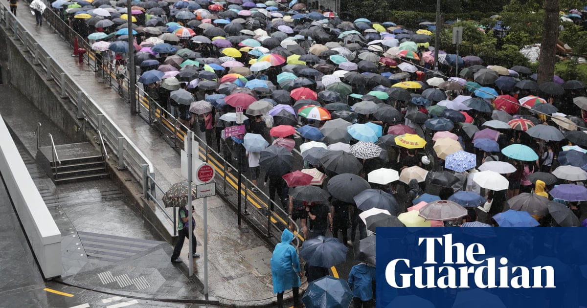 Hong Kong protesters take to streets despite police ban