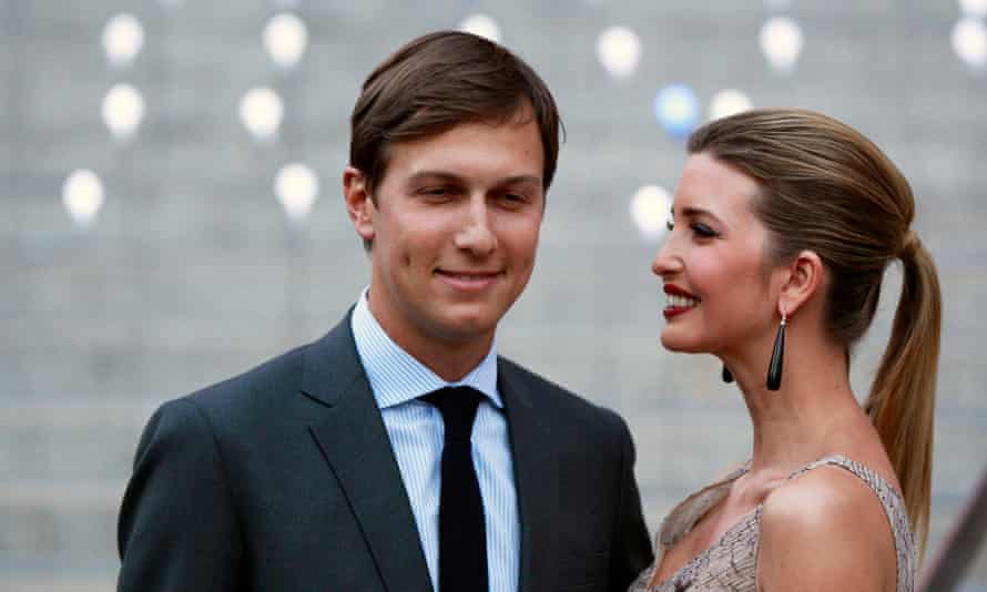 Jared Kushner with wife Ivanka Trump: he is tipped to be one of the powers behind Donald Trump's presidency.