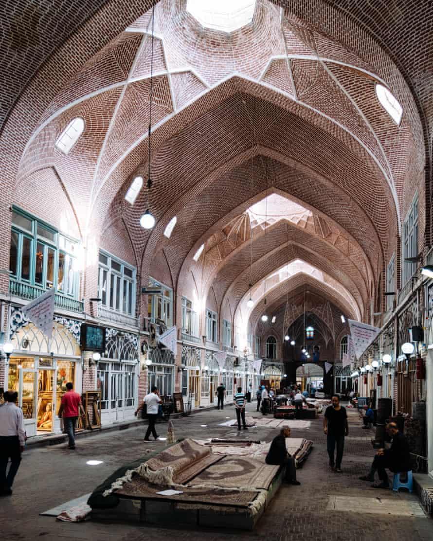 Bazaar, Tabriz, Iran