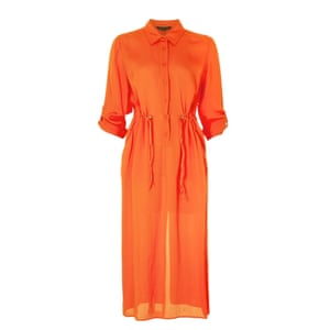 Lightweight shirt dress, £95, frenchconnection.com.