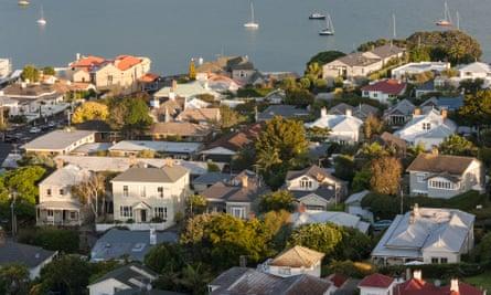 Houses in Devonport, Auckland.