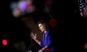 Nancy Pelosi called the killing of the Iranian general 'provocative and disproportionate'.