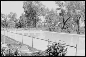The swimming pool at the Moree Aboriginal station