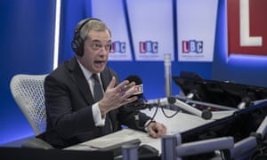 'Never moves the argument along': Nigel Farage on his LBC show