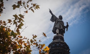 Christopher Columbus points the way.